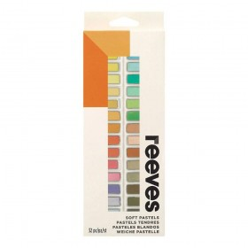 PASTEL SECO REEVES COM 32 CORES CURTO - 8790275
