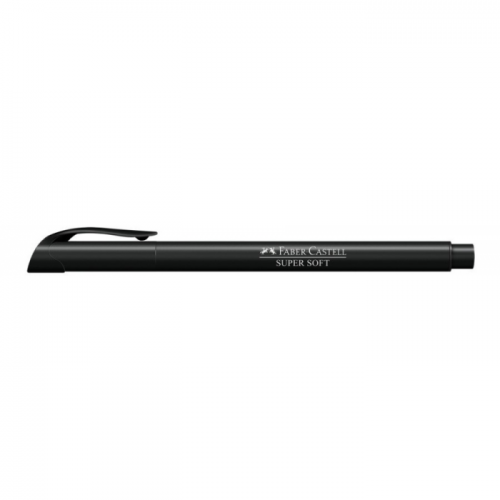 HIDROGRAFICA SUPERSOFT BRUSH PEN PRETO - HSOFT/PT