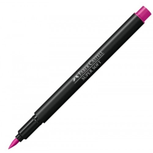 HIDROGRAFICA SUPERSOFT BRUSH PEN ROSA - HSOFT/RS