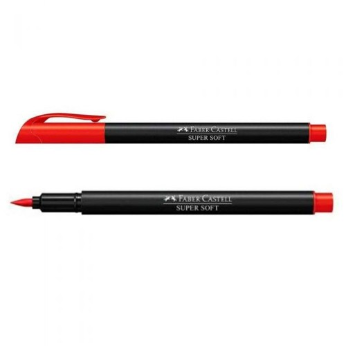 HIDROGRAFICA SUPERSOFT BRUSH PEN VERMELHO - HSOFT/VM